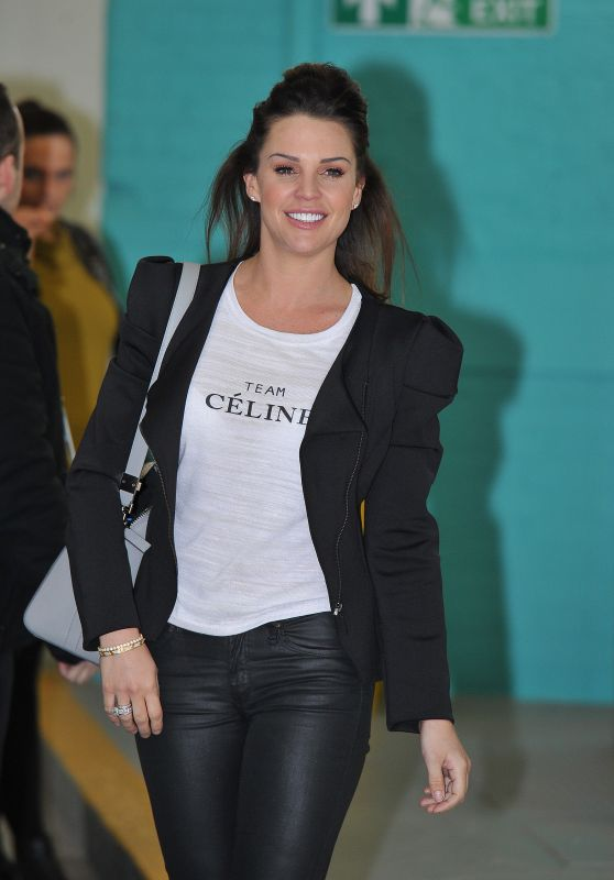 Danielle Lloyd at the ITV Studios in London 2/9/2016