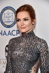 Darby Stanchfield – NAACP Image Awards 2016 Presented by TV One in Pasadena, CA
