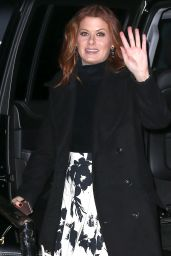 Debra Messing - Out in New York City 2/23/2016