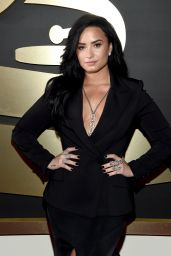 Demi Lovato – 2016 Grammy Awards in Los Angeles, CA