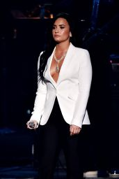 Demi Lovato Performs at Grammy Awards 2016 in Los Angeles, CA