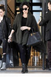 Demi Lovato - Shopping at Barneys New York Store in Beverly Hills, CA 2/3/2016