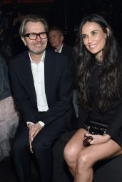 Demi Moore – Saint Laurent Show at The Palladium in Los Angeles 2/10/2016