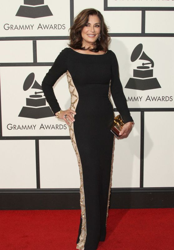 Denise Donatelli – 2016 Grammy Awards in Los Angeles, CA