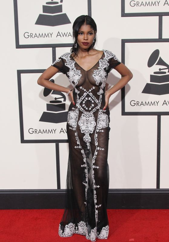Diamond White – 2016 Grammy Awards in Los Angeles, CA