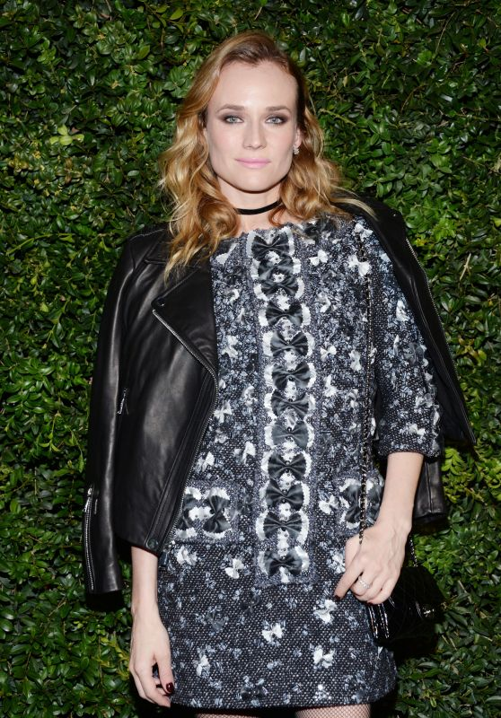 Diane Kruger – Chanel and Charles Finch Oscar Party in Los Angeles, CA 2/27/2016