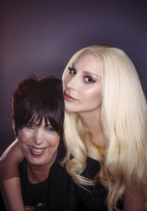 Diane Warren & Lady Gaga – Oscars Nominees Luncheon Portraits, February 2016