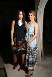 Dianna Agron - Erdem Fashion Show - London Fashion Week 2/22/2016