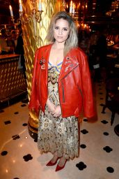 Dianna Agron - Marc Jacobs Beauty Dinner -  London Fashion Week 2/20/2016