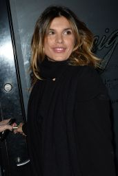 Elisabetta Canalis at Craig's Restaurant in West Hollywood, February 2016