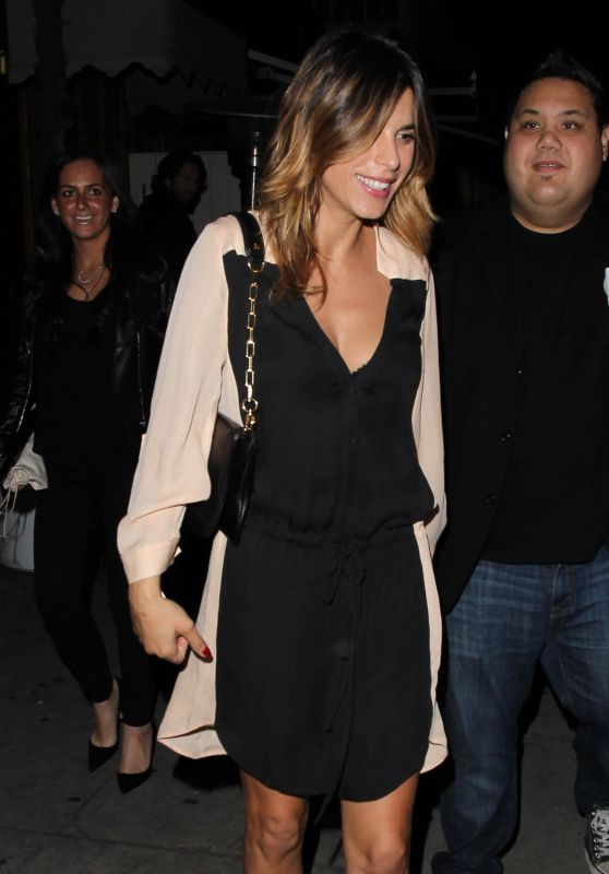 Elisabetta Canalis Night Out - The Nice Guy Club in West Hollywood, February 2016