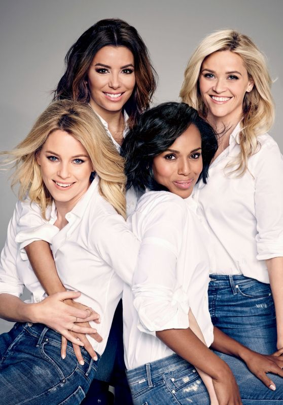 Elizabeth Banks, Reese Witherspoon, Eva Longoria, Kerry Washington - Entertainment Weekly Magazine February 12, 2016
