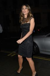 Elizabeth Hurley – 'Vogue 100 – A Century of Style' in London, February 9, 2016