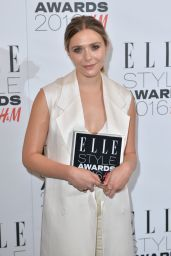Elizabeth Olsen - Elle Style Awards 2016 in London