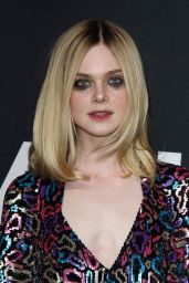 Elle Fanning – Saint Laurent Show at The Palladium in Los Angeles 2/10/2016