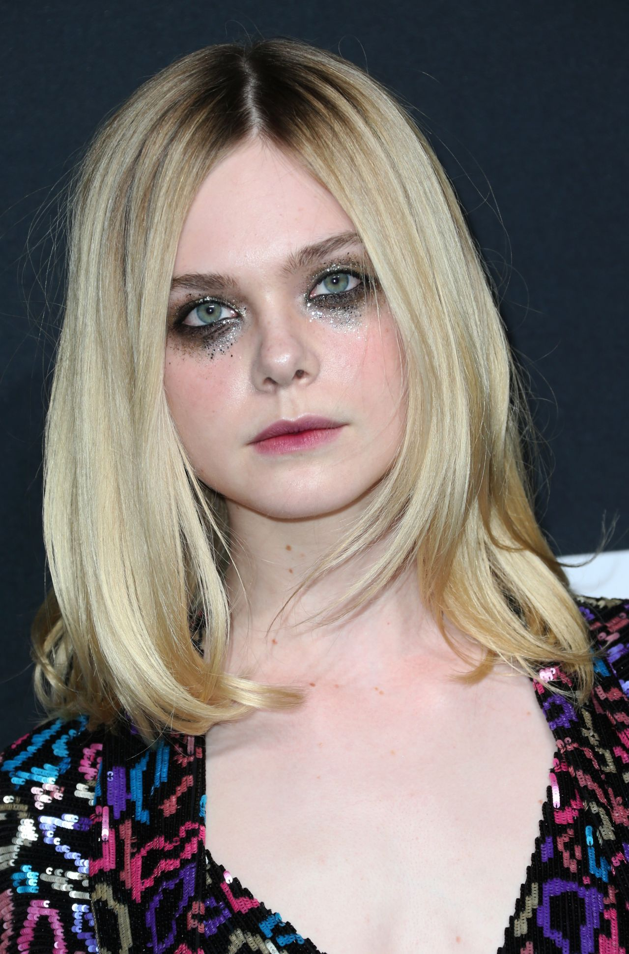 Elle Fanning Covers Fashion Magazine Says She Loves Being: Saint Laurent Show At The Palladium In Los