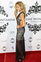 Ellen Hollman - Opening of Galerie Montaigne in West Hollywood 2/19/2016