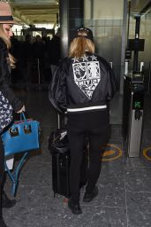 Ellie Goulding - Flying Out of Heathrow Airport in London 2/11/2016