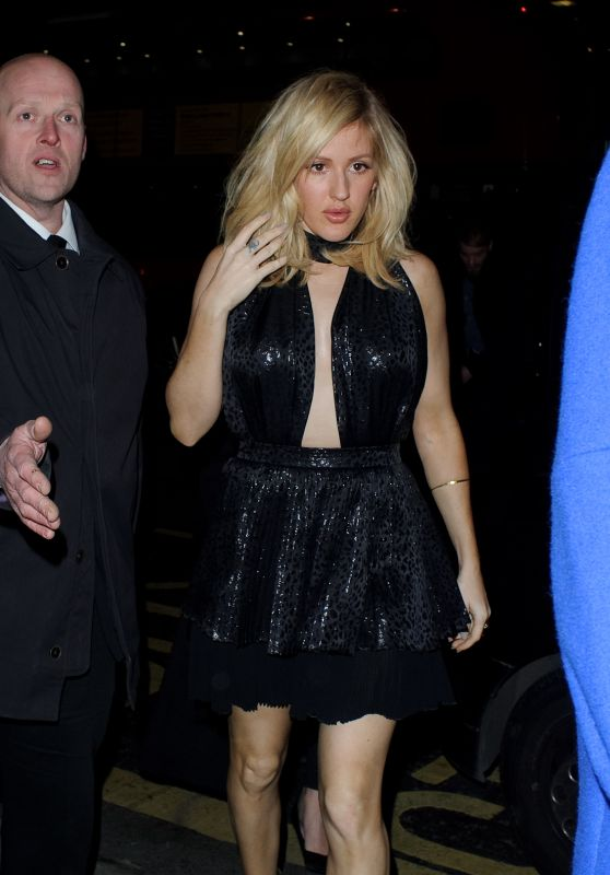 Ellie Goulding - Tape Nightclub in London, UK 2/24/2016