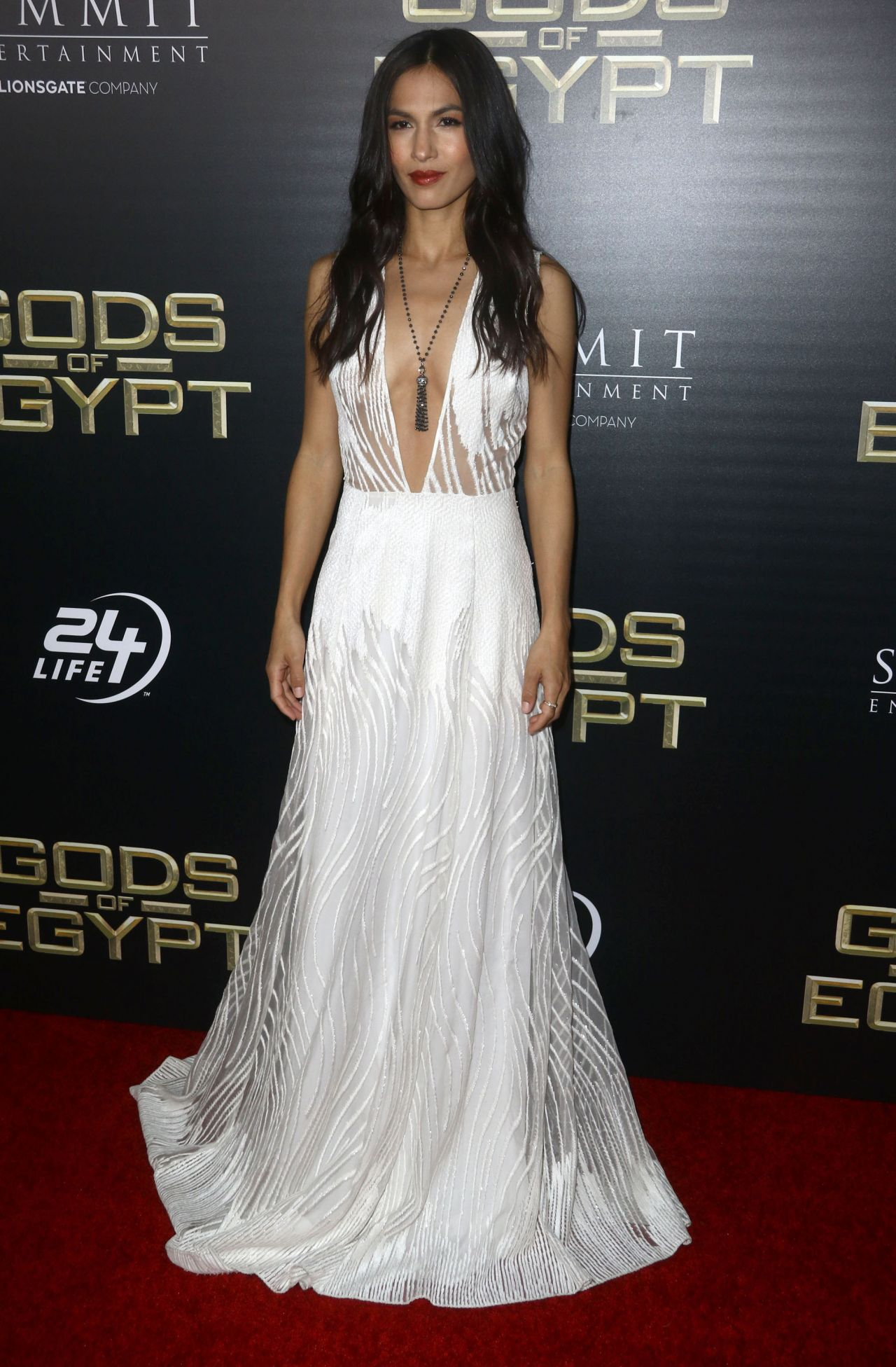 City Of Mckinney >> Elodie Yung – 'Gods Of Egypt' Premiere in New York City, NY