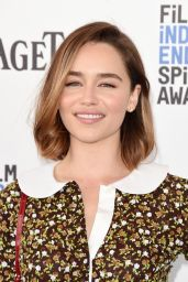 Emilia Clarke - 2016 Film Independent Spirit Awards in Santa Monica, CA