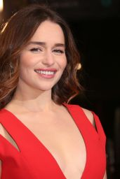 Emilia Clarke – BAFTA Film Awards 2016 in London