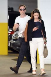 Emilia Clarke Casual Style - Shopping in Los Angeles 2/7/2016