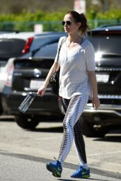 Emily Blunt - Hits a Morning Gym Session in Los Angeles, CA 2/10/2016