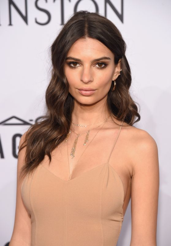 Emily Ratajkowski – 2016 amfAR New York Gala in New York City, NY