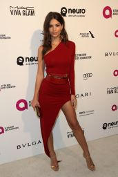 Emily Ratajkowski – 2016 Elton John AIDS Foundation's Oscar Viewing Party in West Hollywood, CA