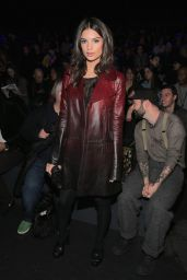 Emily Ratajkowski - Anna Sui Fall 2016 Presentation - New York Fashion Week 2/17/2016