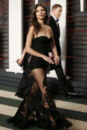 Emily Ratajkowski – Vanity Fair Oscar 2016 Party in Beverly Hills, CA
