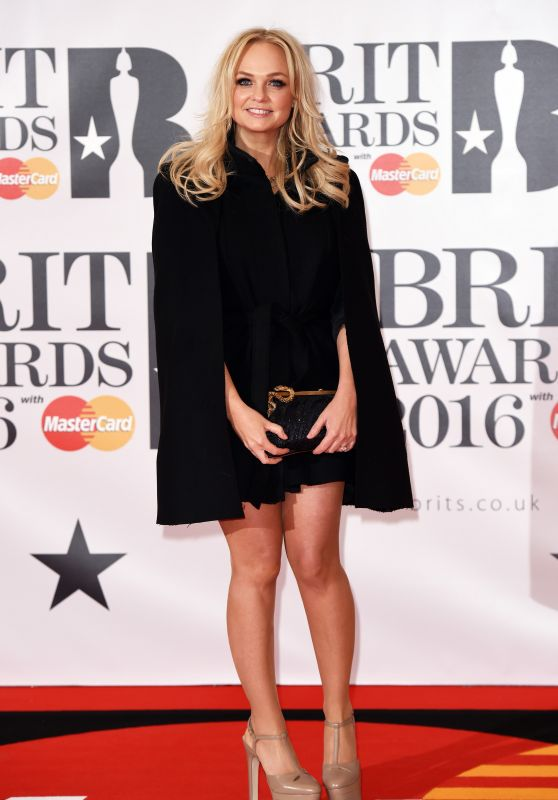 Emma Bunton - BRIT Awards 2016 in London, UK
