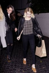 Emma Roberts - Leaving Chateau Marmont in Los Angeles 2/20/2016