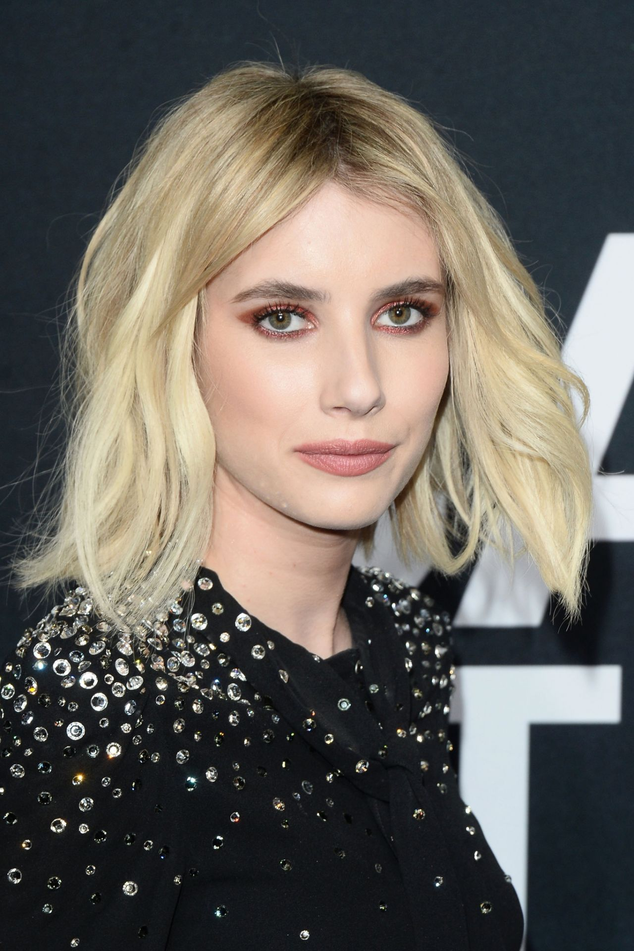 Emma Roberts Saint Laurent Show At The Palladium In Los