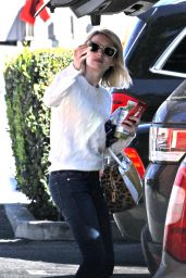 Emma Roberts Shopping at Bristol Farms in West Hollywood, February 2016