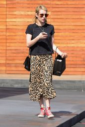 Emma Roberts Street Style - Out in Los Angeles, CA 2/23/2016