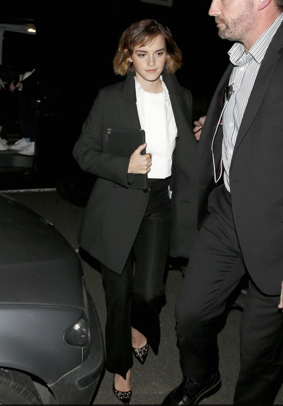 Emma Watson - Arriving at Emmanuel Center in London, February 2016