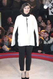 Emma Willis - Celebrity Big Brother Live Eviction Show at the Big Brother House in Hertfordshire 2/2/2016