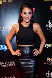 Emmanuelle Chriqui - Leather & Laces Mega Party At Super Bowl 50 in San Francisco