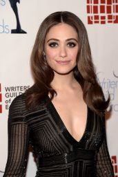 Emmy Rossum - Writers Guild Awards 2016 in New York City