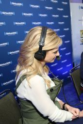 Erin Andrews – SiriusXM Set at Super Bowl 50 Radio Row in San Francisco, CA 2/5/2016