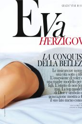 Eva Herzigova - Grazia Magazine Italy February 2016 Issue