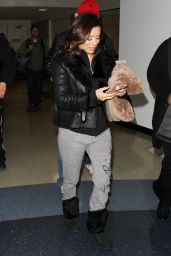 Eva Longoria Airport Style - LAX in Los Angeles 02/02/2016