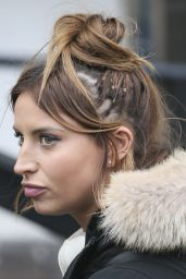 Ferne McCann - Leaving the ITV studios in London 2/4/2016