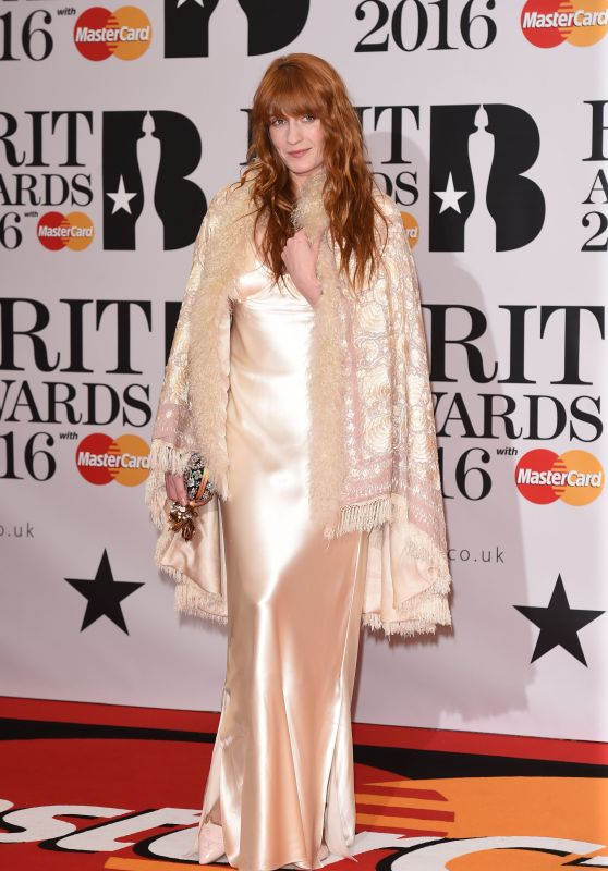 Florence Welch – BRIT Awards 2016 in London, UK
