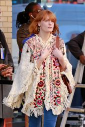 Florence Welch - Out in New York City, NY 2/22/2016