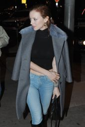 Francesca Eastwood Night Out Style - at Craigs Restaurant in West Hollywood 2/2/2016