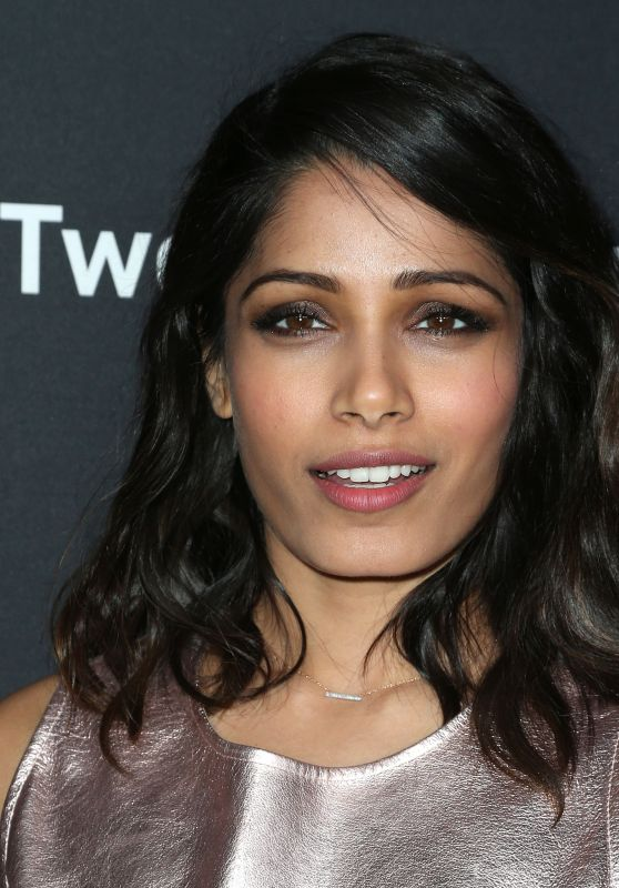 Freida Pinto - Premiere of Substance Over Hype