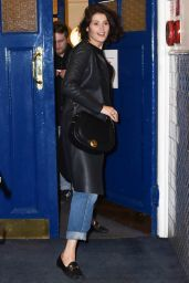 Gemma Arterton at the Apollo Theatre in London, UK February 2016